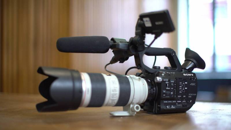 CAMERA SONY FS5 EN LOCATION A MARSEILLE